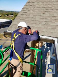 installing K style gutters
